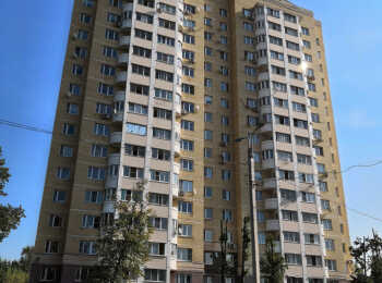 Общий вид на жилой комплекс